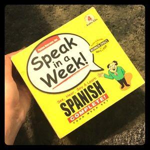 Speak Spanish In A week!
